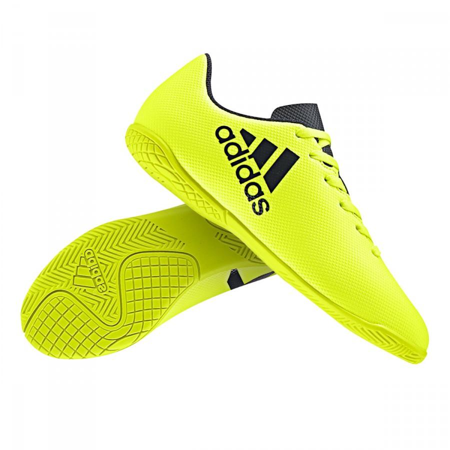 ... Zapatilla X 17.4 IN Niño Solar yellow-Legend ink. CATÉGORIE. Futsal ·  Chaussures futsal · Chaussures de futsal adidas 609b9e28b043