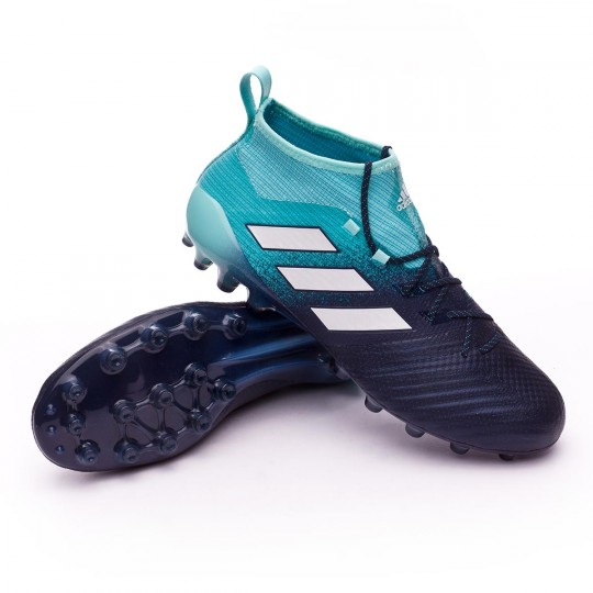 Chaussure de football adidas Ace 17.1 AG Energy agua-White-Legend ink - Boutique de football Fútbol Emotion