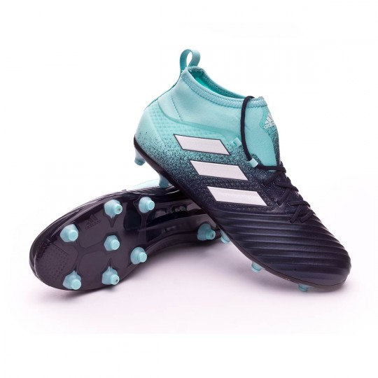 Chuteira  adidas Ace 17.2 FG Energy agua-White-Legend ink