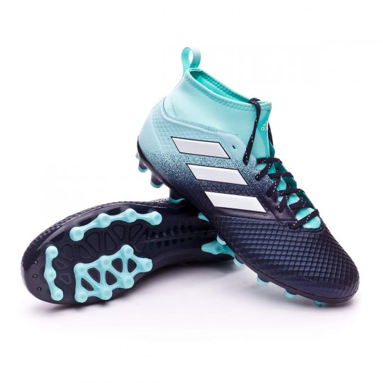 Chuteira  adidas Ace 17.3 AG Energy agua-White-Legend ink