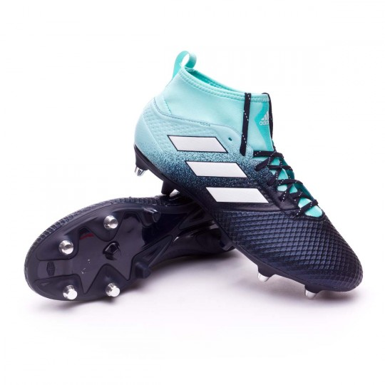 Chuteira  adidas Ace 17.3 SG Energy agua-White-Legend ink