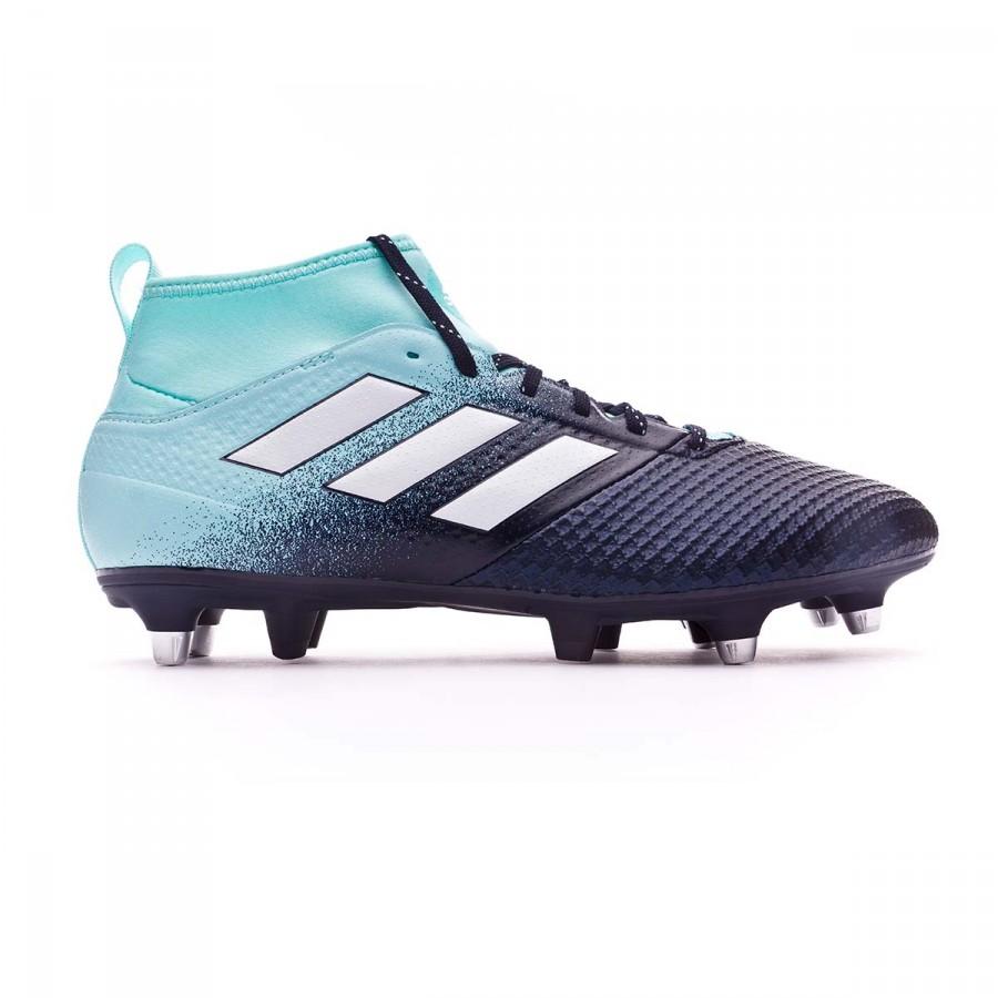 low priced d0ff6 596d3 Chaussure de foot adidas Ace 17.3 SG Energy agua-White-Legend ink -  Boutique de football Fútbol Emotion