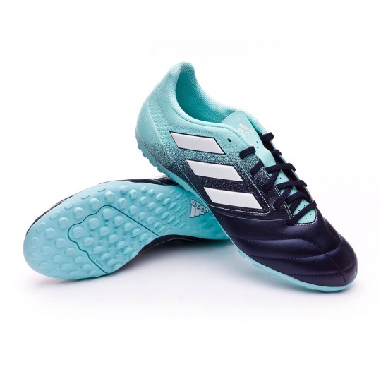 Zapatilla  adidas Ace 17.4 Turf Energy agua-White-Legend ink