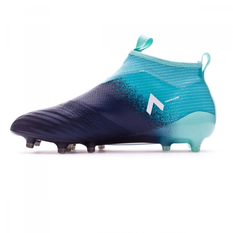 online store ae7c3 1543e Football Boots adidas Ace 17+ Purecontrol FG Energy agua-White-Legend ink -  Tienda de fútbol Fútbol Emotion