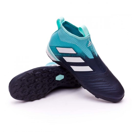 Sapatilhas adidas Ace Tango 17+ Purecontrol Turf Energy agua White Legend ink