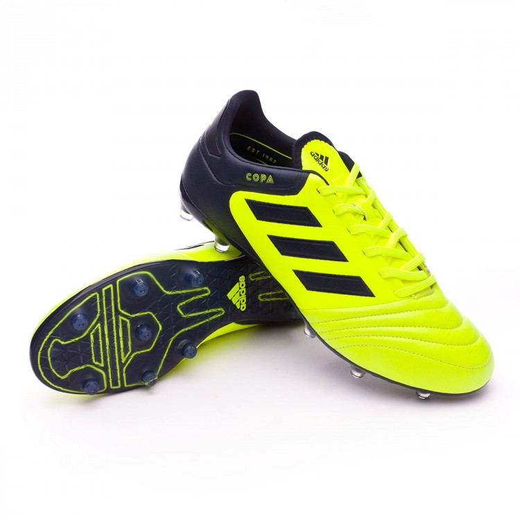 8e1ba08dd Boot adidas Copa 17.2 FG Solar yellow-Legend ink - Leaked soccer