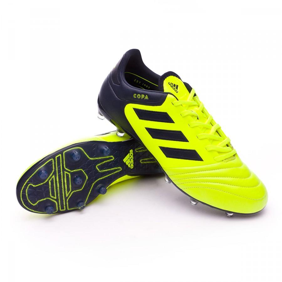 c0ef960a9ce Football Boots adidas Copa 17.2 FG Solar yellow-Legend ink - Tienda ...
