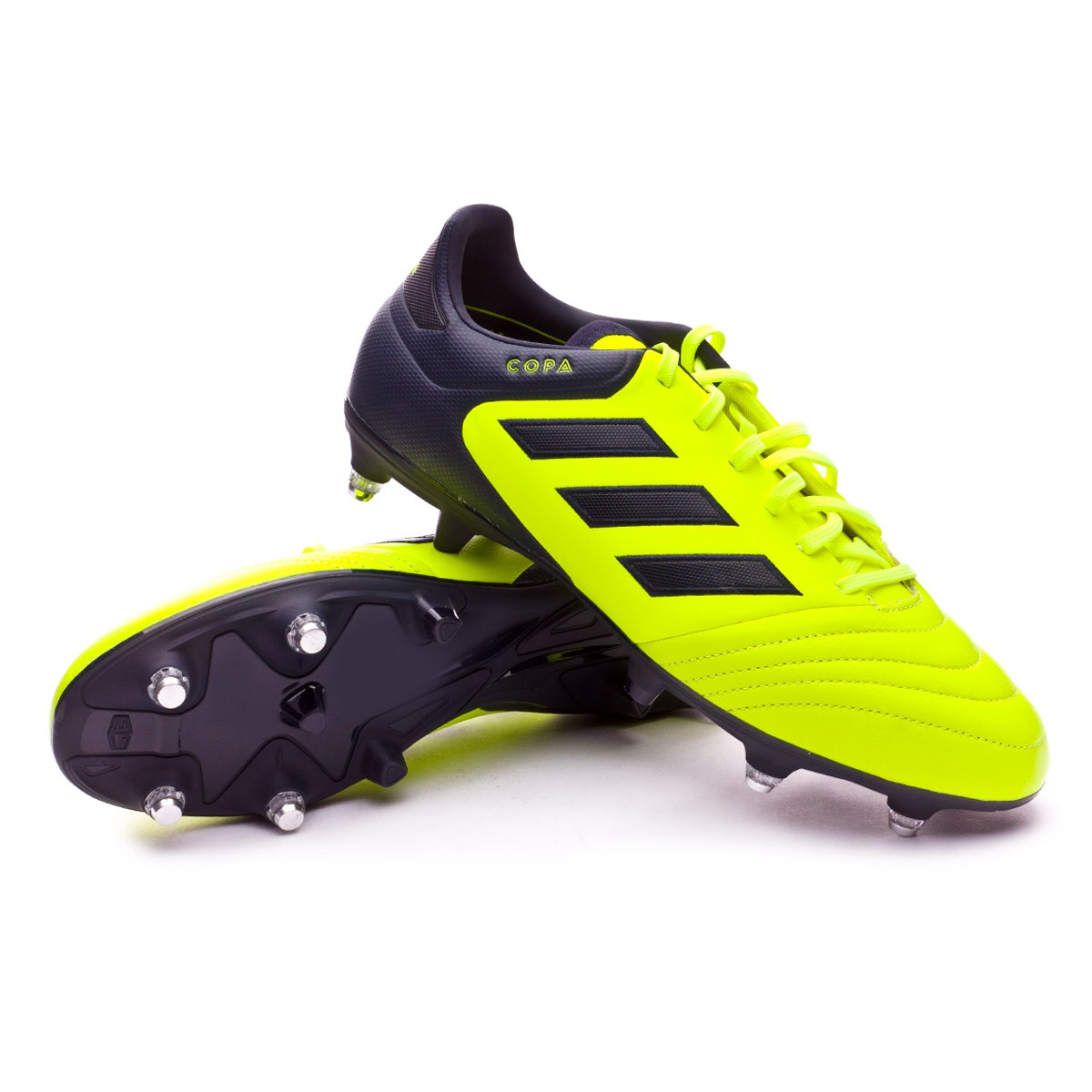 finest selection c21f4 ee200 Chaussure de foot adidas Copa 17.2 SG Solar yellow-Legend ink - Boutique de  football Fútbol Emotion
