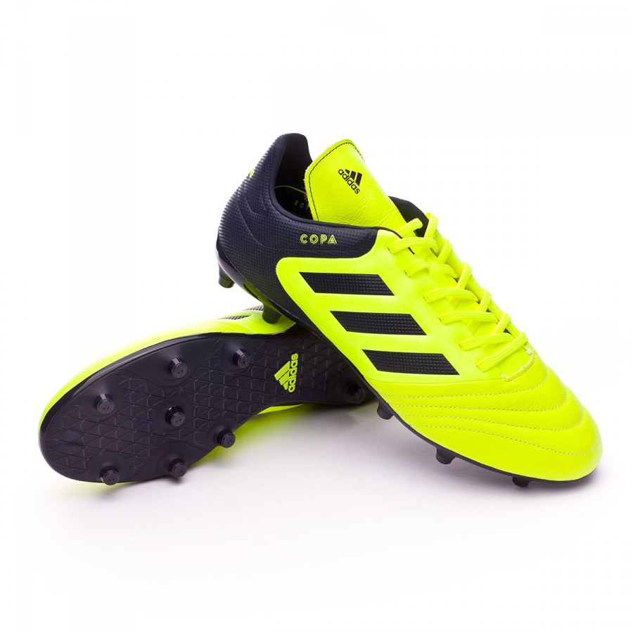 2e683646c5d3 Football Boots adidas Copa 17.3 FG Solar yellow-Legend ink ...