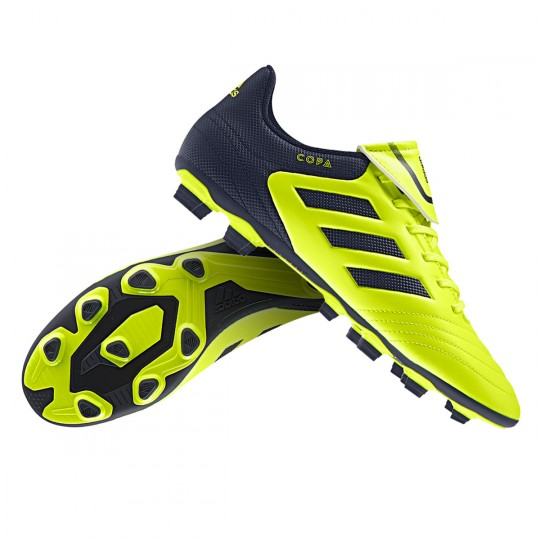 Chuteira  adidas Copa 17.4 FxG Solar yellow-Legend ink