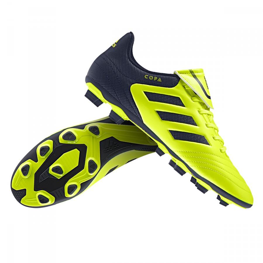newest cc2c4 df833 Chaussure de foot adidas Copa 17.4 FxG Solar yellow-Legend ink - Boutique de  football Fútbol Emotion