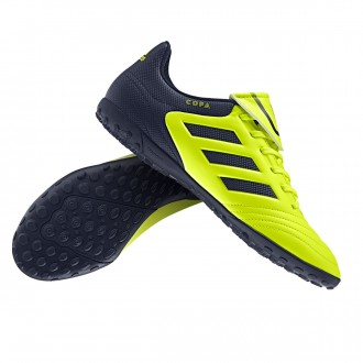 Bota  adidas Copa 17.4 Turf Solar yellow-Legend ink