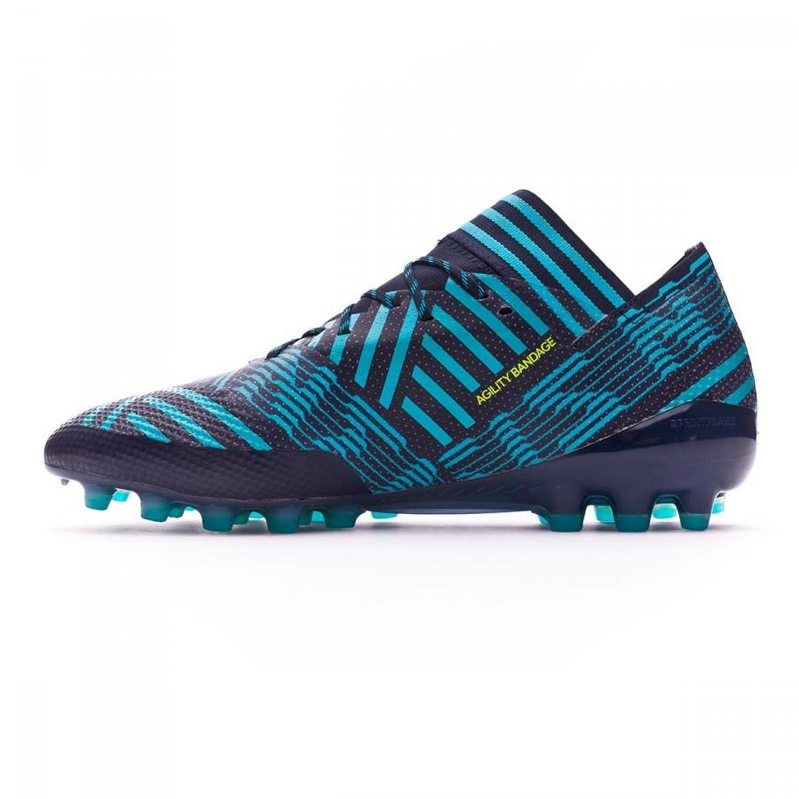 1ed0124e5baa Football Boots adidas Nemeziz 17.1 AG Legend ink-Solar yellow-Energy blue -  Football store Fútbol Emotion