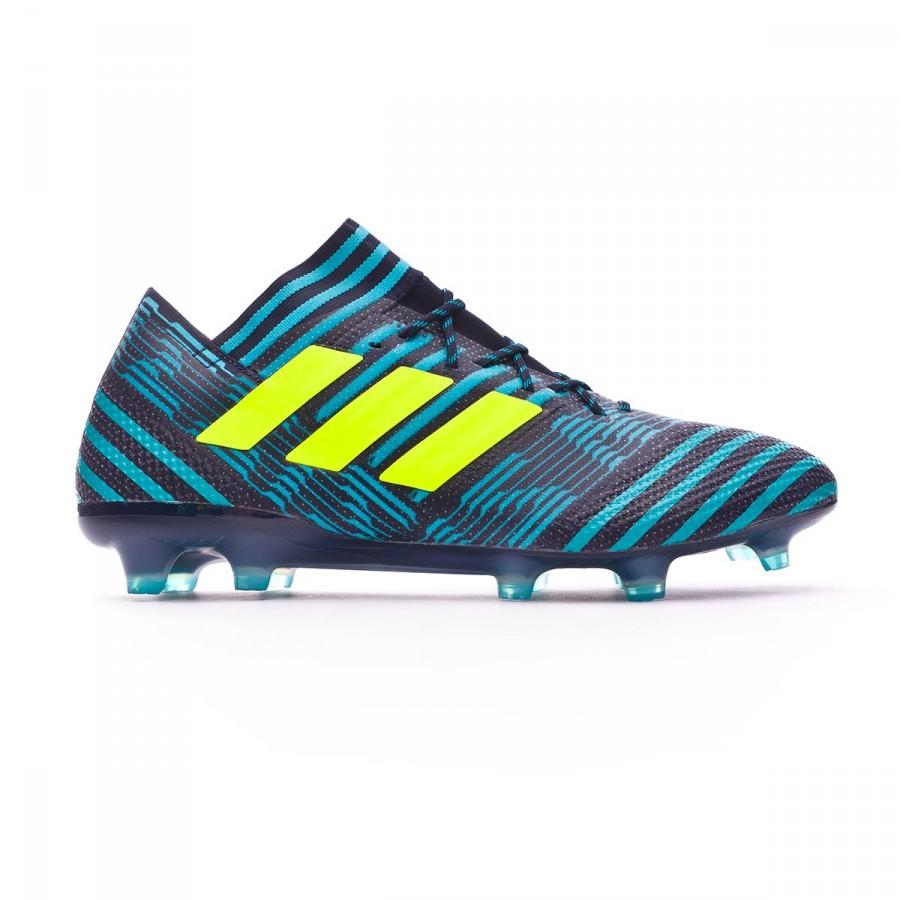 huge discount 74340 2b99d Chaussure de foot adidas Nemeziz 17.1 FG Legend ink-Solar yellow-Energy  blue - Boutique de football Fútbol Emotion