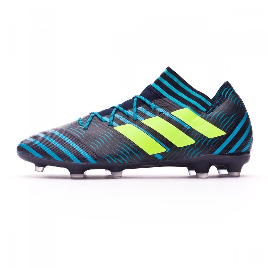 a4eba9d4914 Football Boots adidas Nemeziz 17.2 FG Legend ink-Solar yellow-Energy blue -  Football store Fútbol Emotion