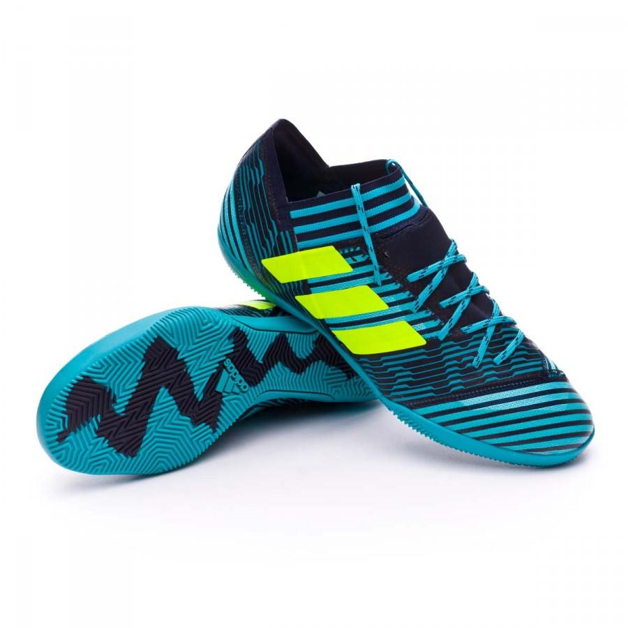 23656ab9a adidas Nemeziz Tango 17.3 IN Futsal Boot. Legend ink-Solar yellow-Energy  blue ...