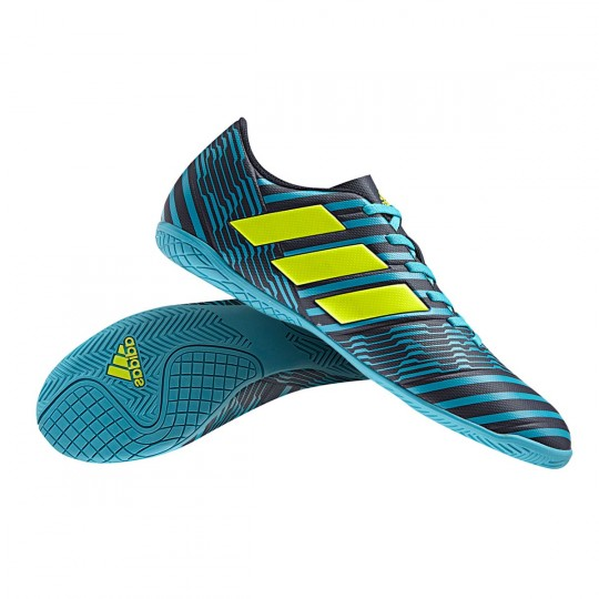 Zapatilla  adidas Nemeziz 17.4 IN Legend ink-Solar yellow-Energy blue
