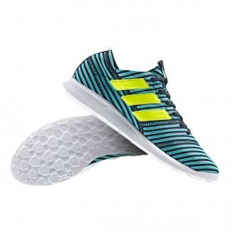 Sapatilha  adidas Nemeziz 17.4 TR Legend ink-Solar yellow-Energy blue