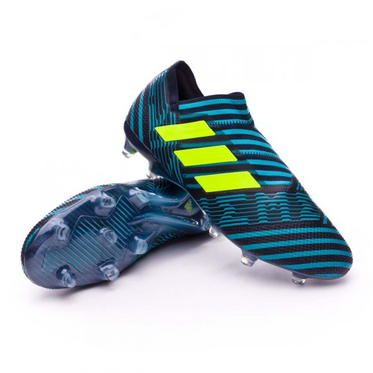 Chuteira  adidas Nemeziz 17+ 360 Agility FG Legend ink-Solar yellow-Energy blue
