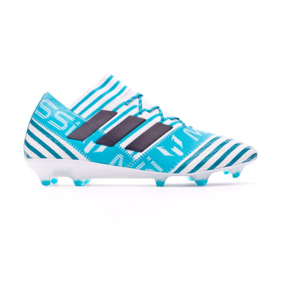 new concept 18936 9a16e Boot adidas Nemeziz Messi 17.1 FG White-Legend ink-Energy blue - Football  store Fútbol Emotion