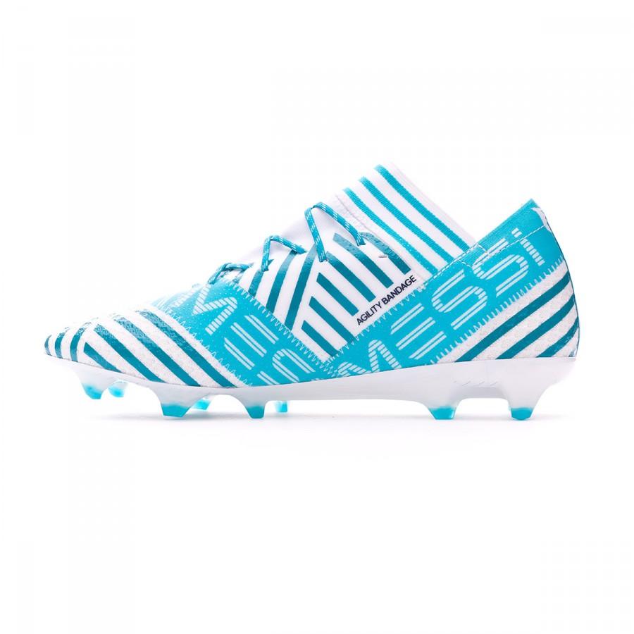0cb5148afaa9 Football Boots adidas Nemeziz Messi 17.1 FG White-Legend ink-Energy blue -  Football store Fútbol Emotion