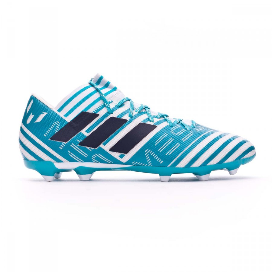 183c4a030697 Football Boots adidas Nemeziz Messi 17.3 FG White-Legend ink-Energy blue -  Tienda de fútbol Fútbol Emotion