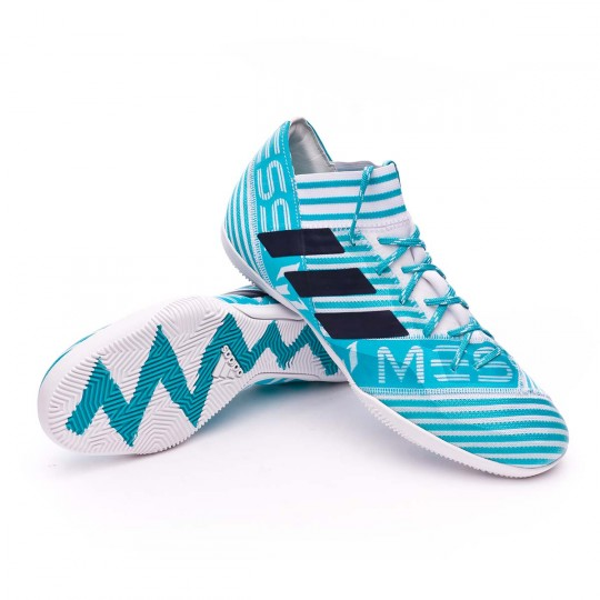 Chaussure  adidas Nemeziz Messi Tango 17.3 IN White-Legend ink-Energy blue