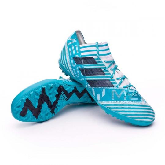 Chaussure  adidas Nemeziz Messi Tango 17.3 Turf White-Legend ink-Energy blue