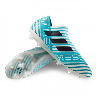 Nemeziz Messi 17+ 360 Agility FG White-Legend ink-Energy blue