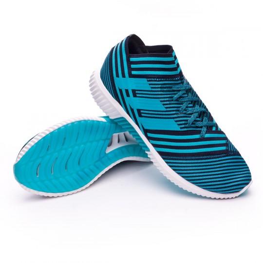 Zapatilla  adidas Nemeziz Tango 17.1 TR White-Legend ink-Energy blue
