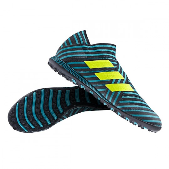 Zapatilla  adidas Nemeziz Tango 17+ 360 Agility Turf White-Legend ink-Energy blue
