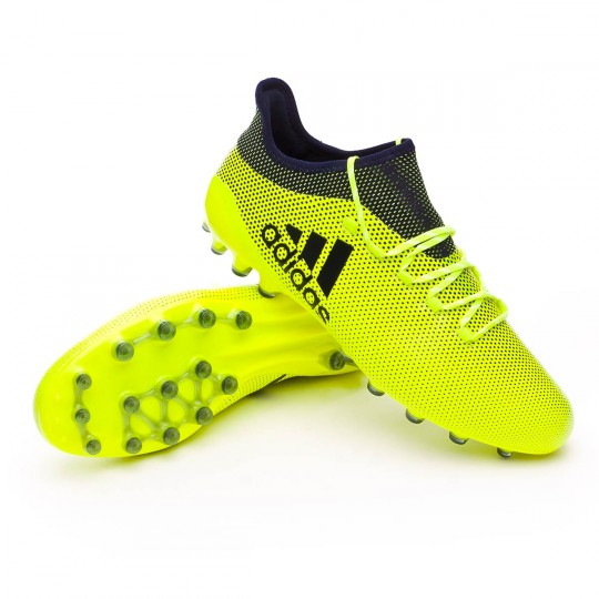 Chaussure  adidas X 17.1 AG Solar yellow-Legend ink