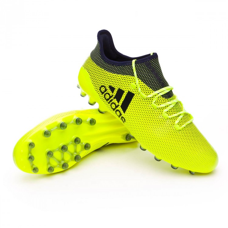 uk availability 51d8b 9c736 bota-adidas-x-17.1-ag-solar-yellow-legend-