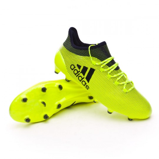 Chaussure  adidas X 17.1 FG Solar yellow-Legend ink
