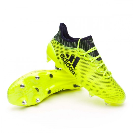 Chaussure  adidas X 17.1 SG Solar yellow-Legend ink