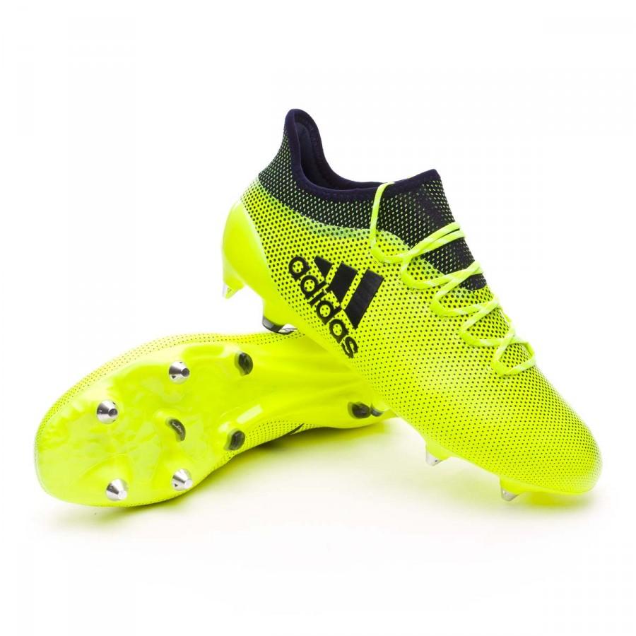bota adidas solar yellow