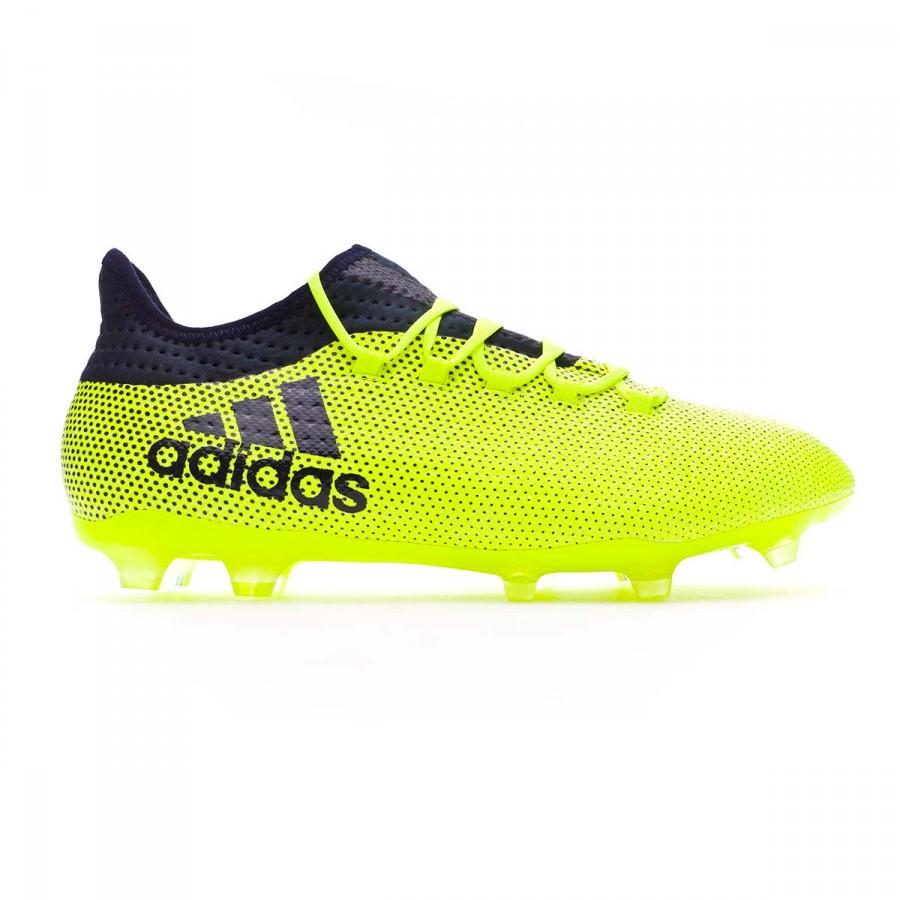 more photos ba97b 59589 Scarpe adidas X 17.2 FG Solar yellow-Legend ink - Negozio di calcio Fútbol  Emotion