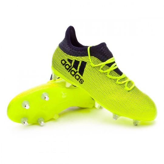 Chuteira  adidas X 17.2 SG Solar yellow-Legend ink