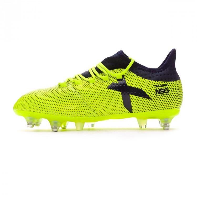 cd0391bb4 Football Boots adidas X 17.2 SG Solar yellow-Legend ink - Tienda de ...