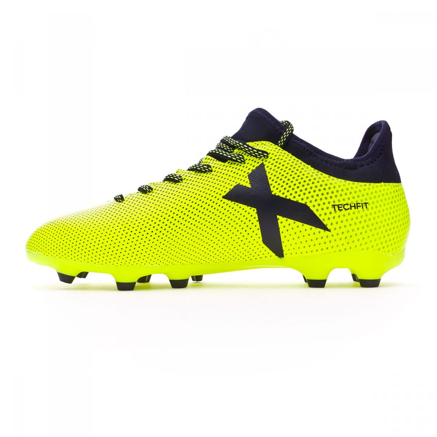 b726d697f07fa Football Boots adidas X 17.3 FG Solar yellow-Legend ink - Tienda de fútbol  Fútbol Emotion