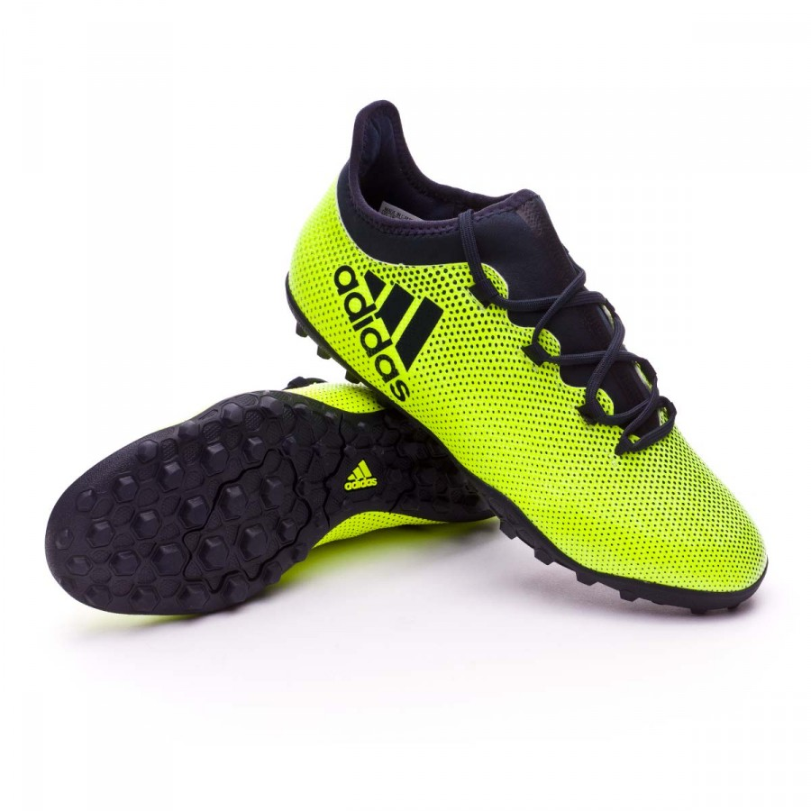 dee3ee486 Football Boot adidas X Tango 17.3 Turf Solar yellow-Legend ink ...
