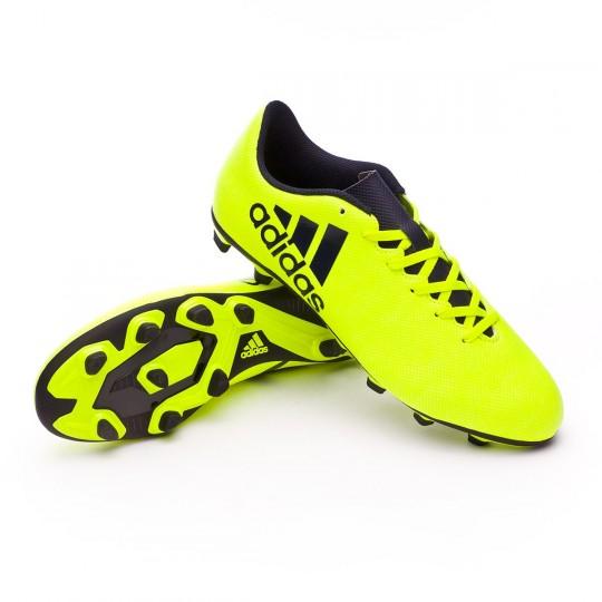 Bota  adidas X 17.4 FxG Solar yellow-Legend ink