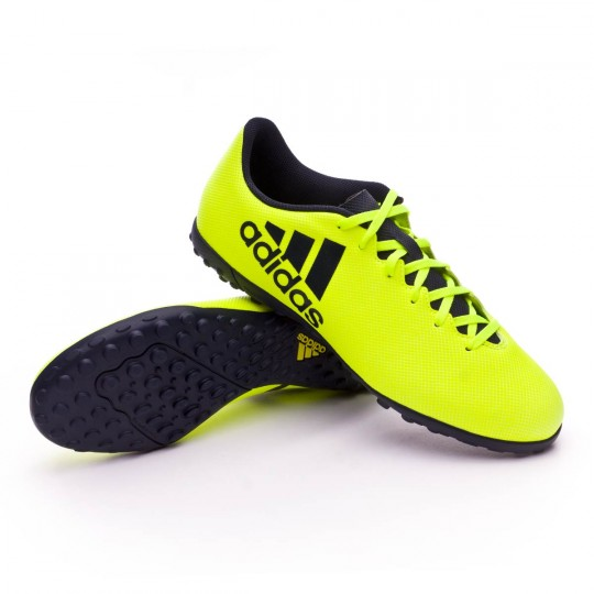Zapatilla  adidas X 17.4 Turf Solar yellow-Legend ink