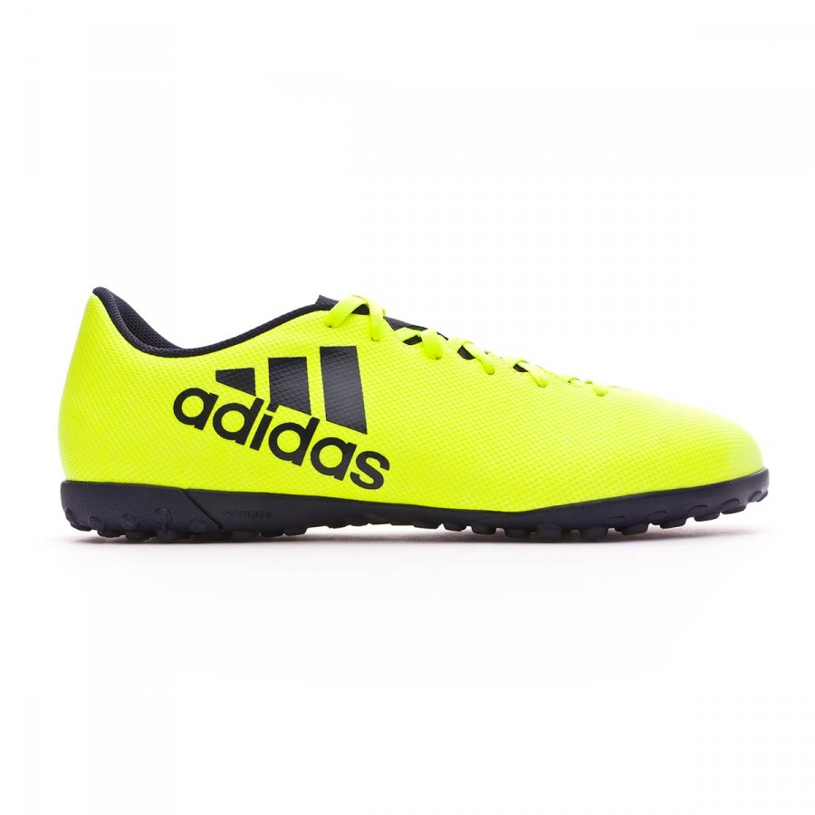 72d0fae3d650 Football Boot adidas X 17.4 Turf Solar yellow-Legend ink - Football store  Fútbol Emotion
