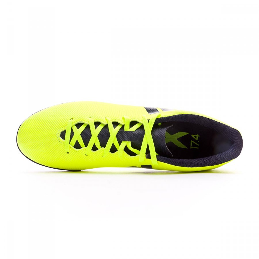 2652ce840a7f ... Zapatilla X 17.4 Turf Solar yellow-Legend ink. CATEGORY. Football Boots  · adidas boots