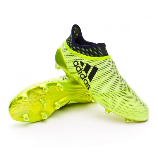 Chaussure  adidas X 17+ Purespeed FG Solar yellow-Legend ink