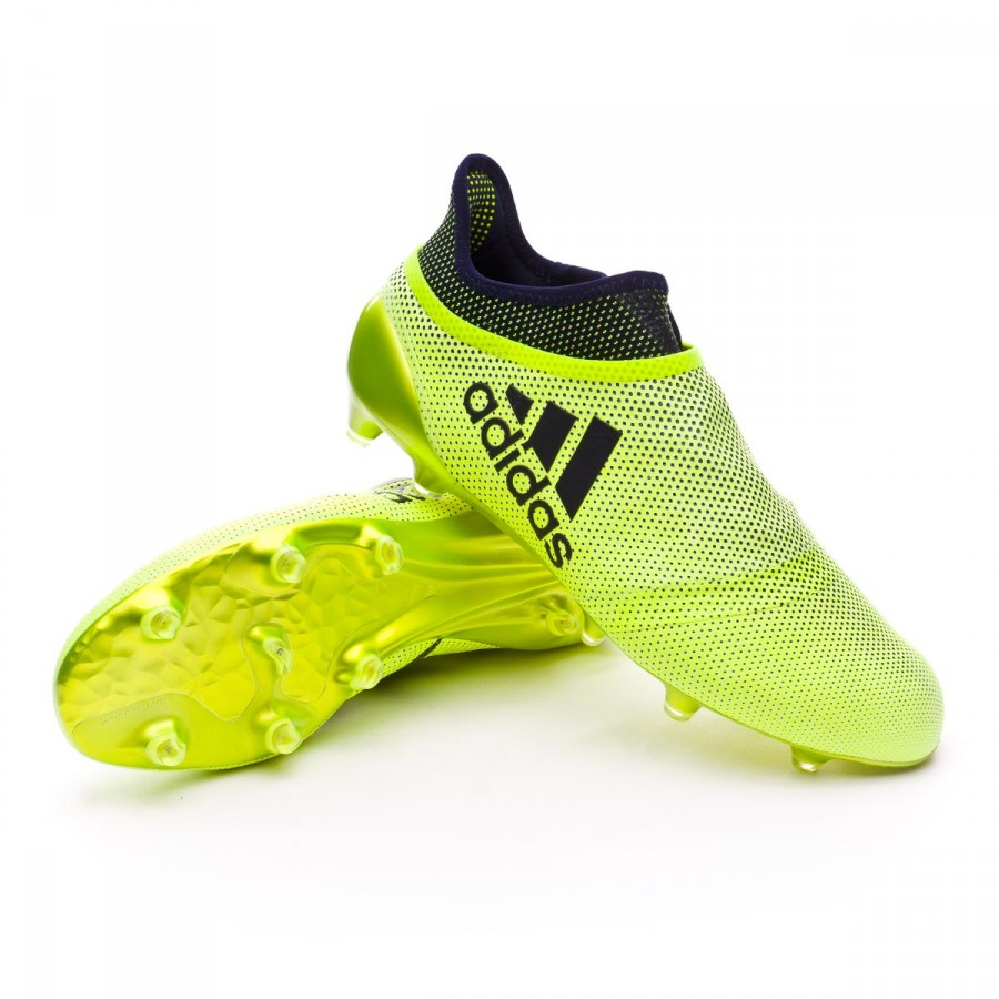 Bota X 17+ Purespeed FG Solar yellow-Legend ink