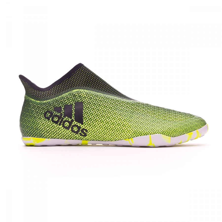 a6a6a09eb8d3 Futsal Boot adidas X Tango 17+ Purespeed IN Solar yellow-Legend ink -  Football store Fútbol Emotion
