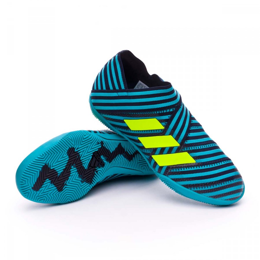 5483f4b214a7 adidas Nemeziz Tango 17+ 360 Agility IN kids Futsal Boot. Legend ink-Solar  yellow-Energy ...
