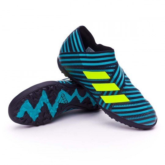 Zapatilla  adidas Nemeziz Tango 17+ 360 Agility Turf Niño Legend ink-Solar yellow-Energy blue